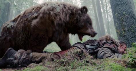 a visszatero - dicaprio grizzly medve